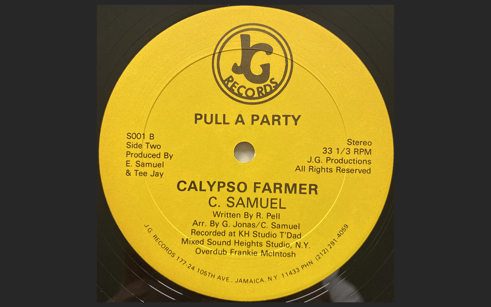 Calypso Farmer - Pull a Party